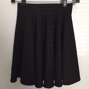 Dresses & Skirts - Simple Black A-Line Skater Skirt